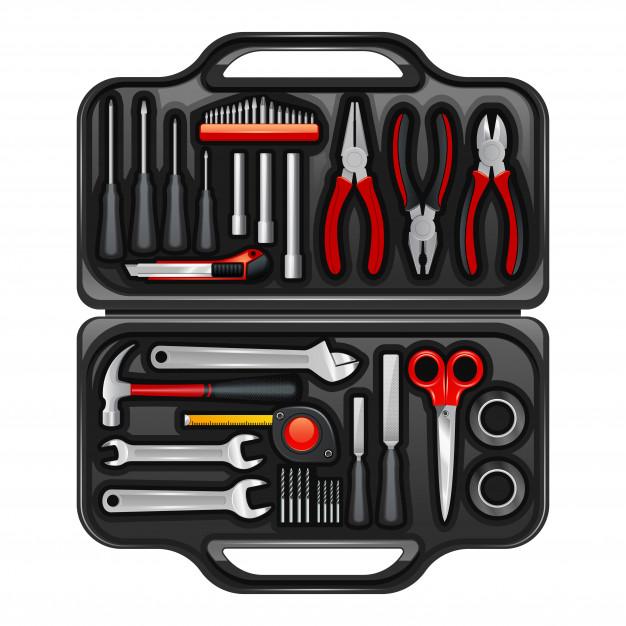 Kovinski zaboj za orodje